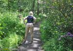 BritsLadies - Brit Flashing In the Woods