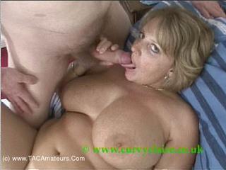 CurvyClaire - Wank On My Tits Movie