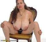 DeniseDavies - Black Mini Skirt Striptease