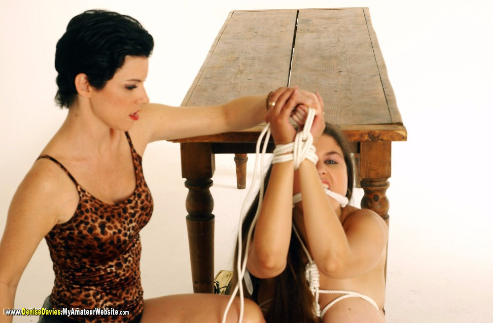 DeniseDavies - Alex Ties Denise Pt2