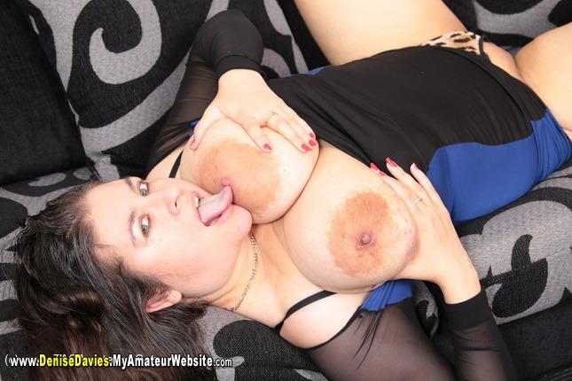 DeniseDavies - Naked On The Bed Pt6