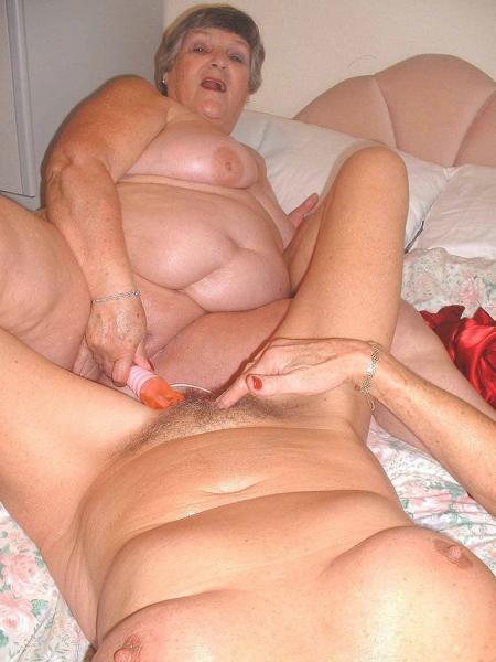 Grandmalibby - The Original Granny Cock Loving Granny Porn -8951