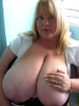 KellyKKups - Kelly is a whole lotta sexy BBW with huge 46K fuckable boobs. This all natural slut loves to be used by her master and his friends.