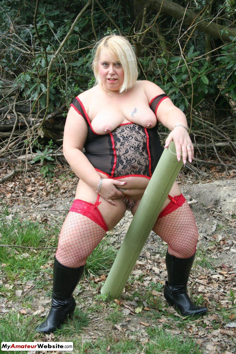 LexieCummings - Lexie out in the woods