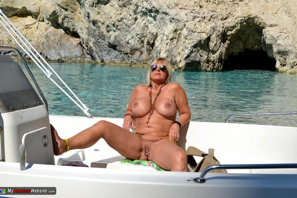 NudeChrissy - Zackynthos Nude Boat Trip
