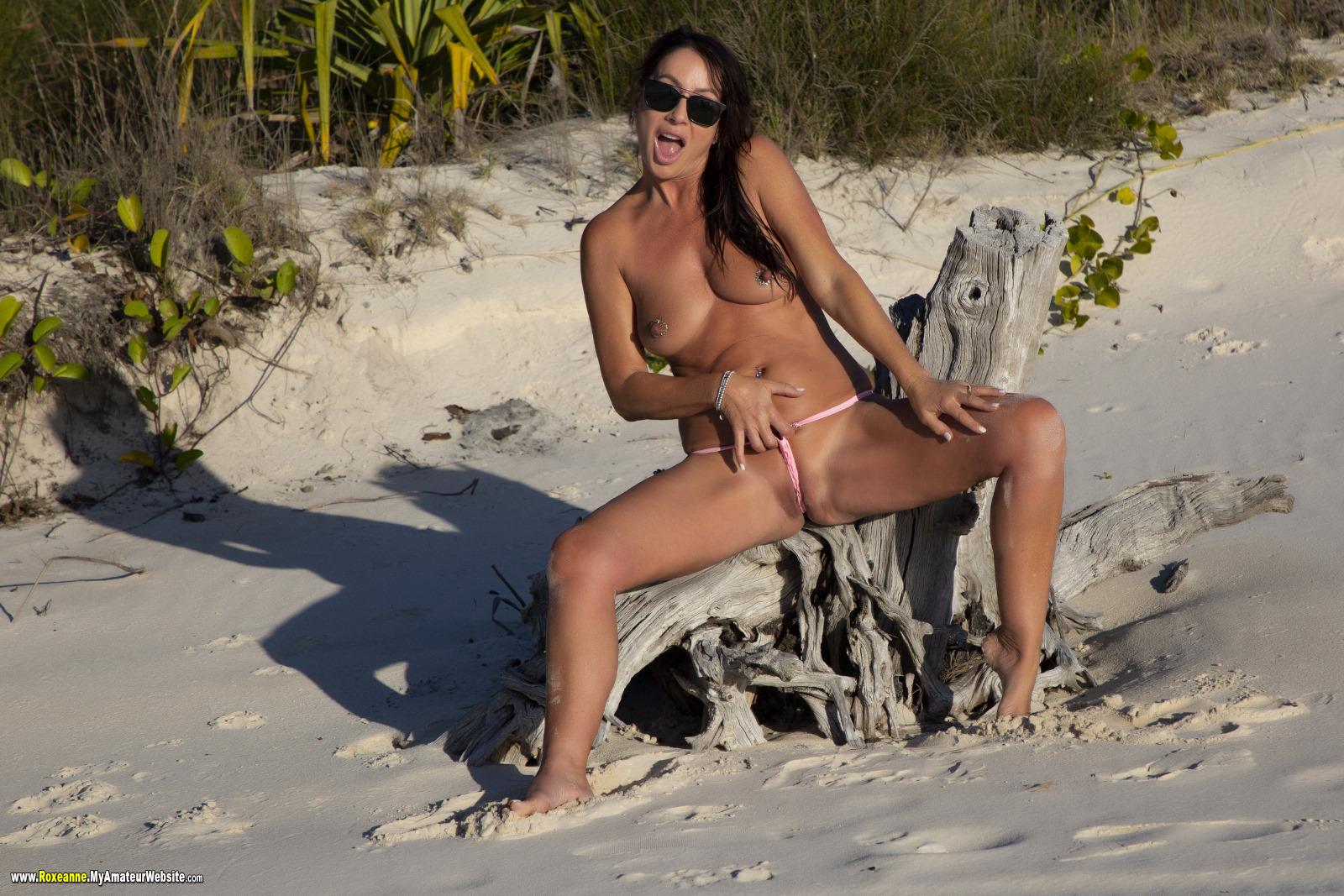 Roxeanne - Extreme Mesh Bikini 4