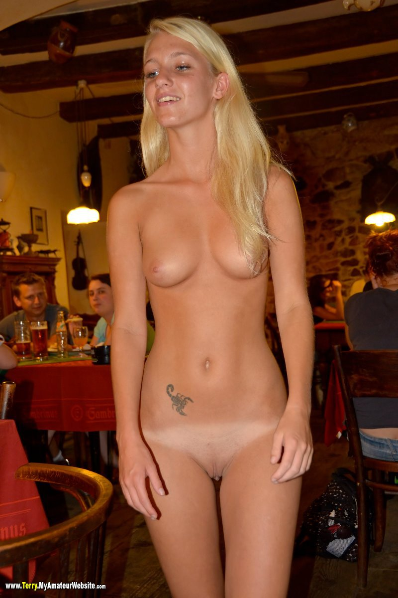 naked at the bar