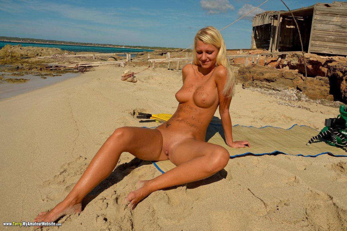 Terry - Formentera Day6 Beach part 1