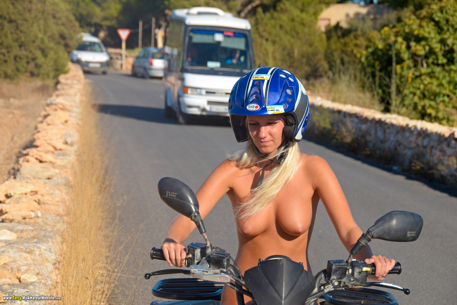 Terry - Formentera Day 7 Quad Ride part 1