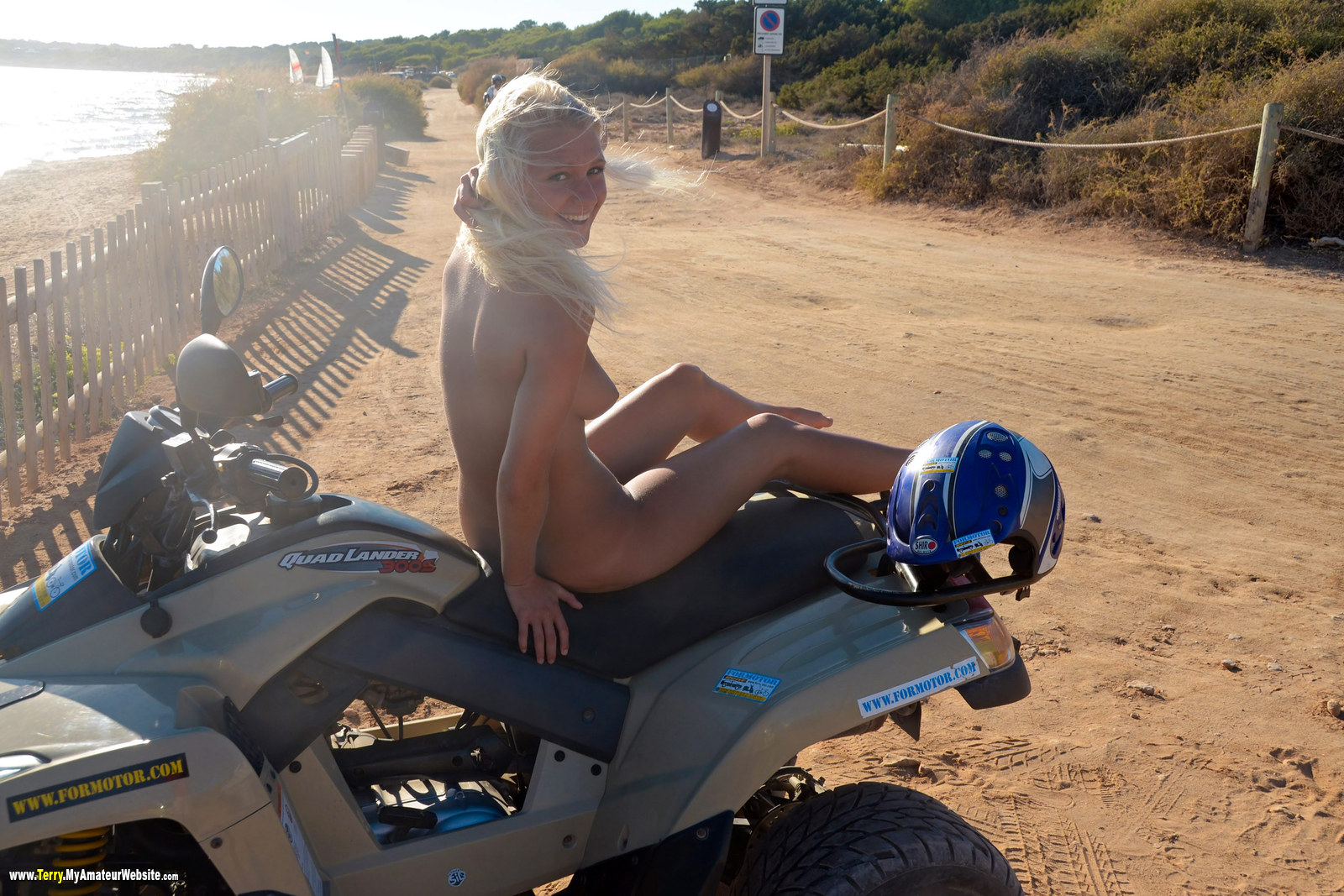 Terry - Formentera Day 7 Quad Ride part 2
