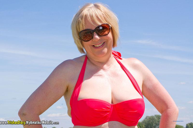 TrishasDiary - Red Bikini