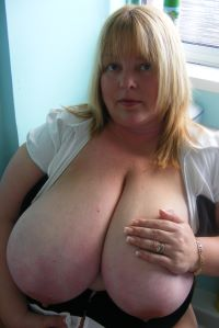 Kelly is a whole lotta sexy BBW with huge 46K fuckable boobs. This all natural slut loves to be used by her master and his friends.