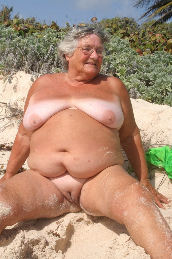 grannys having sex on a nude beach