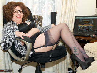 AuntieTrisha - Working From Home