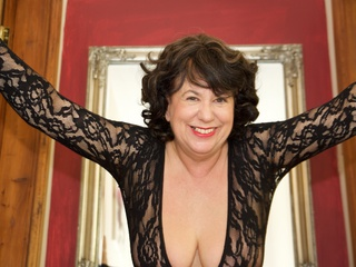 AuntieTrisha - Black Bodystocking Gallery
