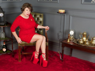 AuntieTrisha - Red Dress Gallery