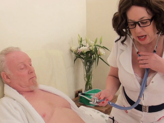 AuntieTrisha - The Naughty Nurse Pt 1 HD Video