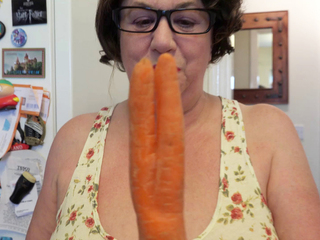 AuntieTrisha - Two Fingered Carrot Pt 1 HD Video