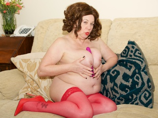 AuntieTrisha - All in Red Gallery