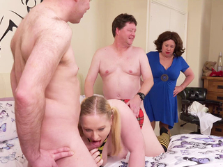 AuntieTrisha - Caught in the Act Pt 1 HD Video