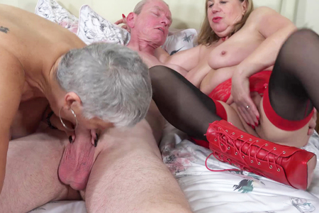 AuntieTrisha - Auntie Trishas new neighbour Part6 HD Video