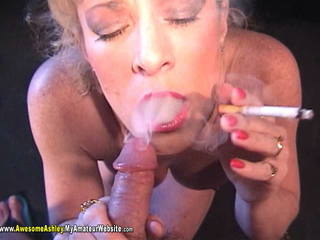 AwesomeAshley - Smoking BJ Pt 3