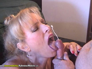 AwesomeAshley - smoking BJ Pt 4 Video