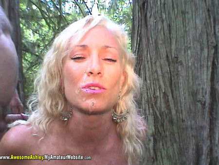 AwesomeAshley - Outdoor Fuk PT 2 Video