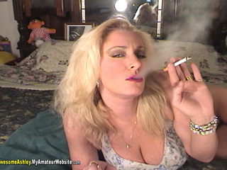 AwesomeAshley - Smoking Diaper pt1 Video