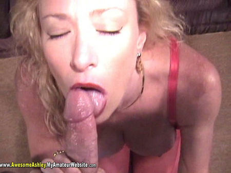 AwesomeAshley - Gagger BJ Video