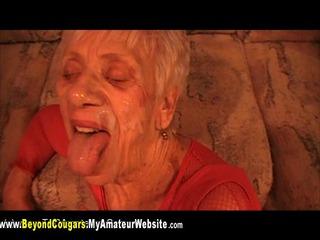 BeyondCougars - Granny Marg BJs & Facials