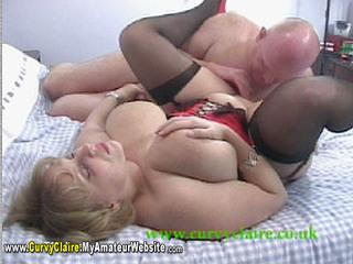 CurvyClaire - Red Waspie Rides Movie Pt2