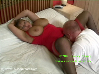 CurvyClaire - Posh Frock Fuck HD Video