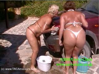 CurvyClaire - Car Wash Fun With Randy Raz P