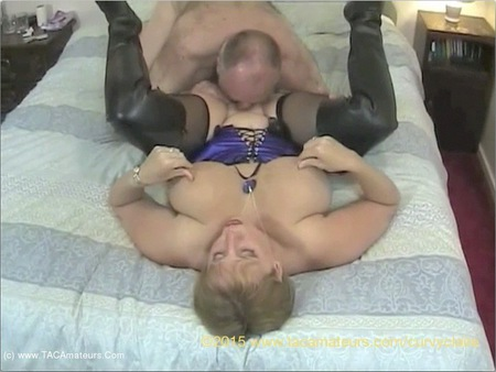 CurvyClaire - Thigh Boot Humping Pt1 HD Video