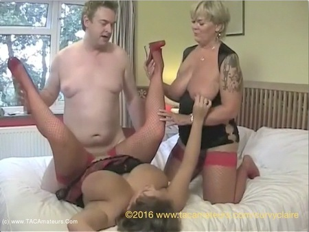 CurvyClaire - Threesome With Randy Raz Pt4 HD Video