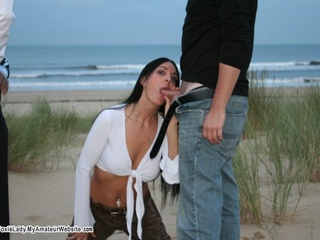 FoxieLady - Gang Bang on the Beach Gallery