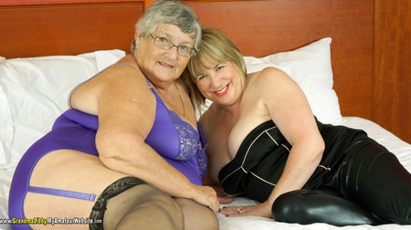 GrandmaLibby - Lesbo Fun With Trisha Gallery