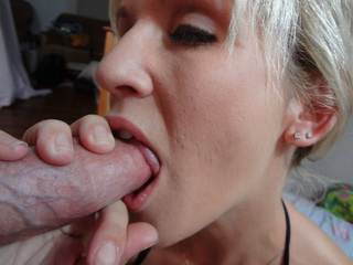 PVC Cum swallowing whore