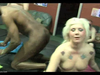 KimberlyScott - Kim & Mandy Gangbang Party 1 Pt3 HD Video