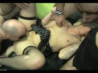 KimberlyScott - Kim & Mandy Gangbang Party 1 Pt4 HD Video