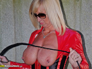 Melody - PVC Cat Suit & Whip Gallery