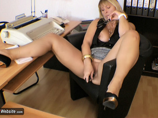 NudeChrissy - Chrissy In Her Office HD Video