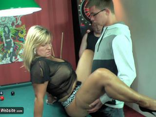 NudeChrissy - Pool Table 3 Some HD Video