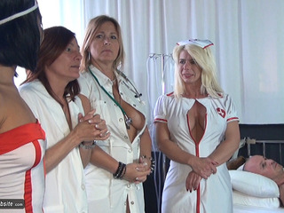 NudeChrissy - The Nurses Erectile Problem HD Video