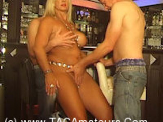 NudeChrissy - Chris Visits A Nudist Bar HD Video