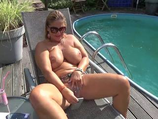 NudeChrissy - Pool Date HD Video