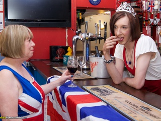 TrishasDiary - In The Bar With Lisa Gallery