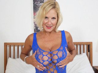 TrishasDiary - Molly's Blue Party Dress Pt 1 HD Video