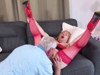 TrishasDiary - New Red Basque and Shoes Pt 2 HD Video